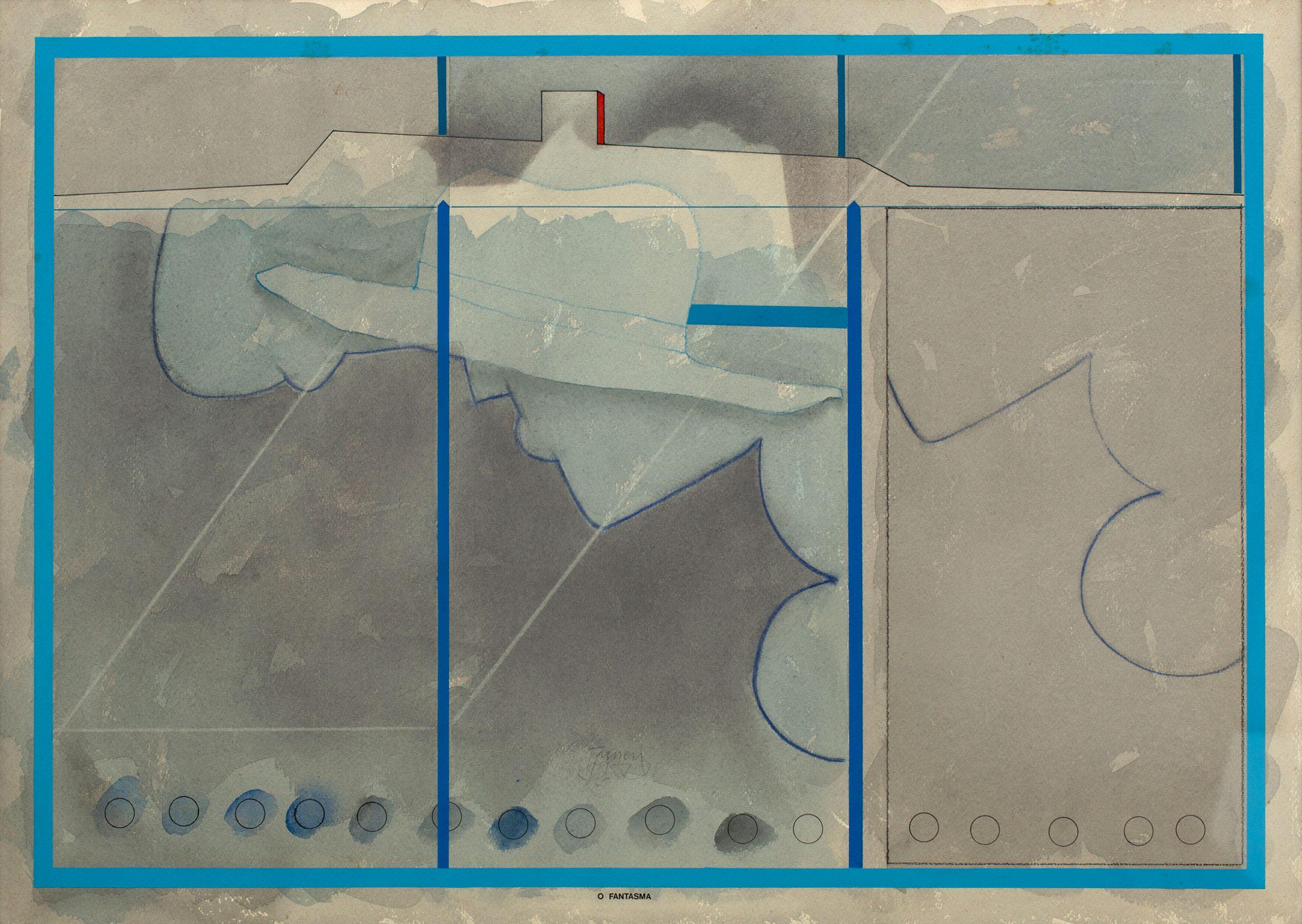 Pintura de Tuneu, da série Os sonhos de Mickey