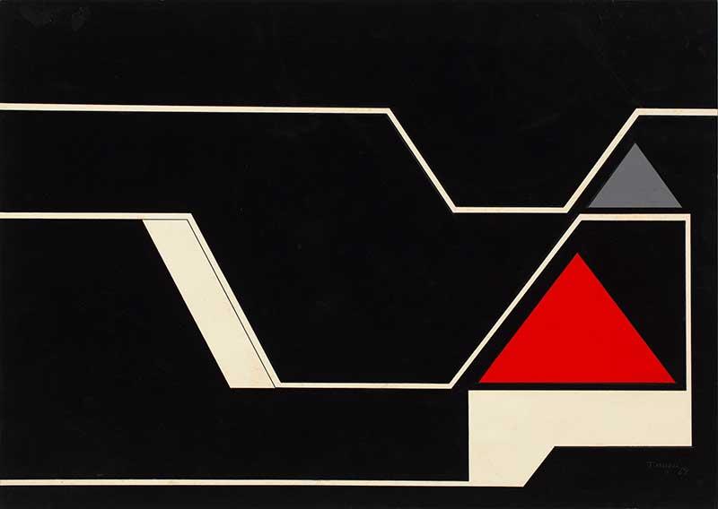 Geometric Drawings 1960's