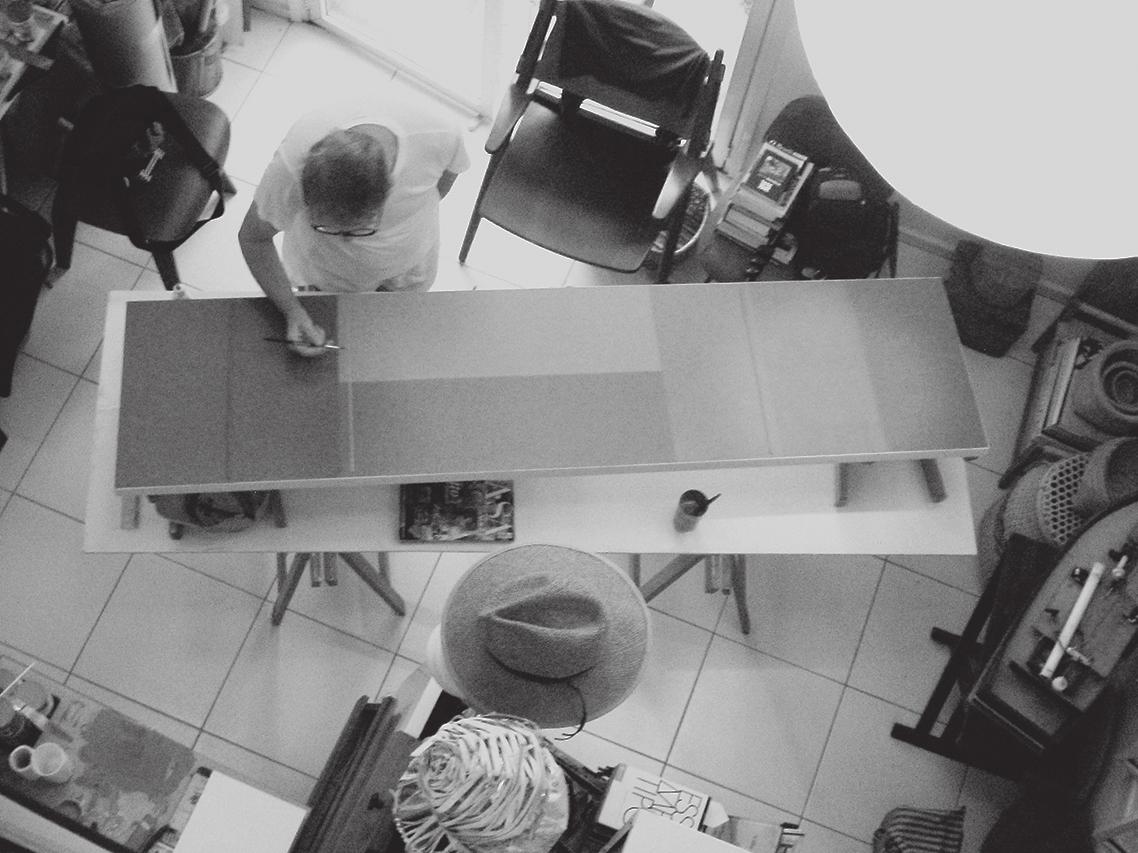 No atelier em [<em>at studio in</em>] Pariquera-Açu